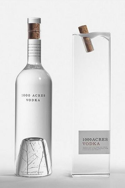 1000 Acres Vodka by Arnell