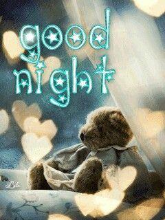 """Good Night!   (""""ich wünsche euch noch einen schönen abend und später eine gute nacht"""")"""