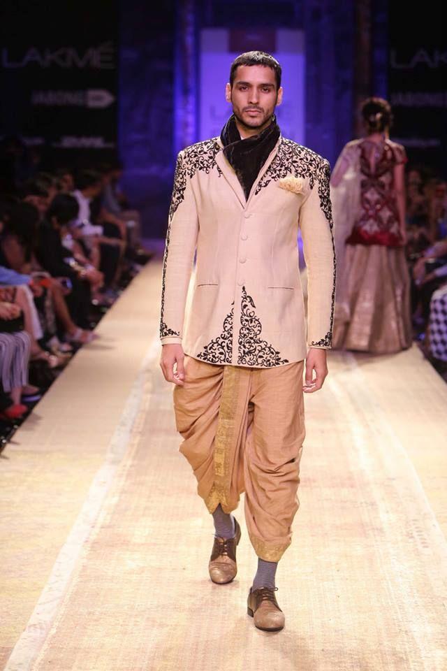 DAY 1 - Anju Modi at Lakme Fashion Week 2014