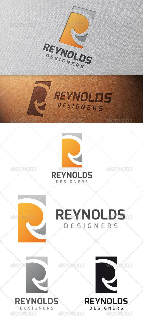 Reynolds Letter R - Logo Design Template Vector #logotype Download it here: http://graphicriver.net/item/reynolds-letter-r-logo-template/4823369?s_rank=1221?ref=nexion