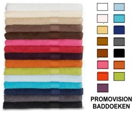 Badhanddoeken en badlakens bedrukken of promotextiel borduren