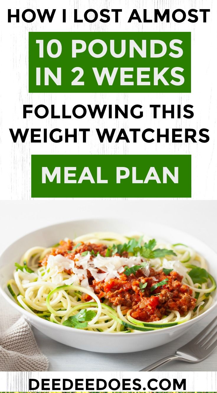 How I Misplaced Nearly 10 Kilos in 2 Weeks Following This Weight Watchers Meal Plan