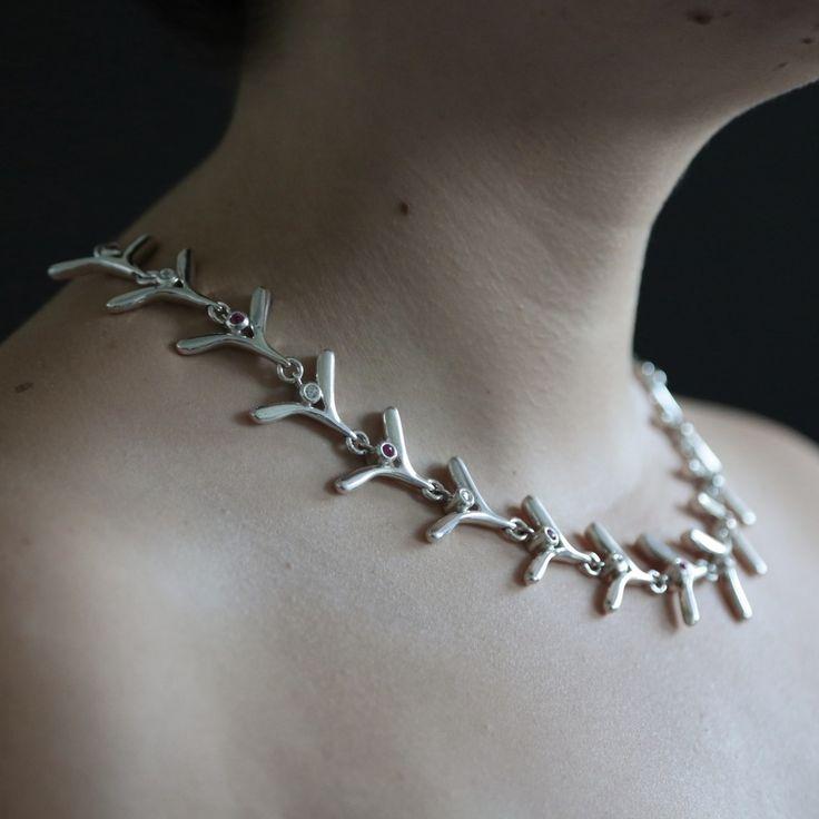 AURORA - Halsband av Jenny Karvinen