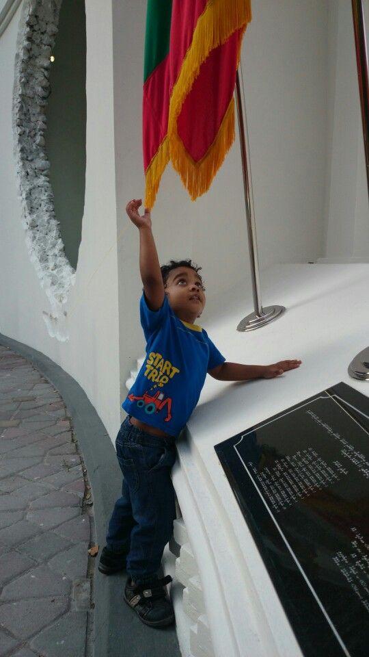 Jool visits Shaheedhunge Binaa