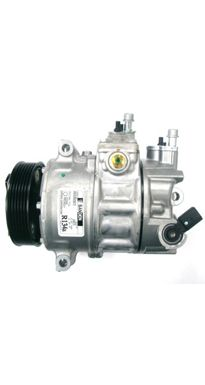 The Sanden PXE16 air conditioning compressor is a direct replacement for the factory unit on all Volkswagen Golfs Mk5. The factory units have a manufacturing defect (lack of lubrication) which thus leads to metal fatigue, causing the shafts to break inside and small particles of metal to block up the control valve and contaminate the entire air conditioning system