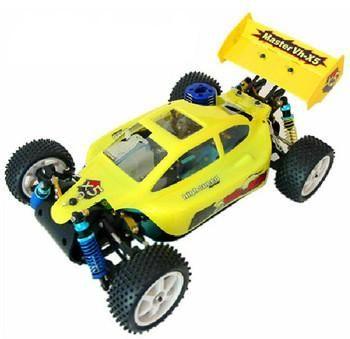 RC 35-45mph Nitro Buggy Engine 0.18 w/ 2 Gears GCX5 YELLOW