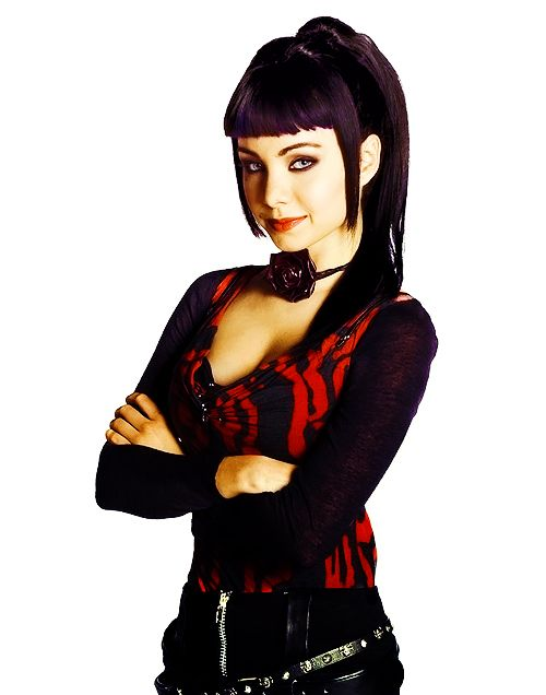 Kenzi from lost girl, played by Ksenia Solo, has great clothes, great hair, great makeup and a great attitude. My favourite Lost Girl character.