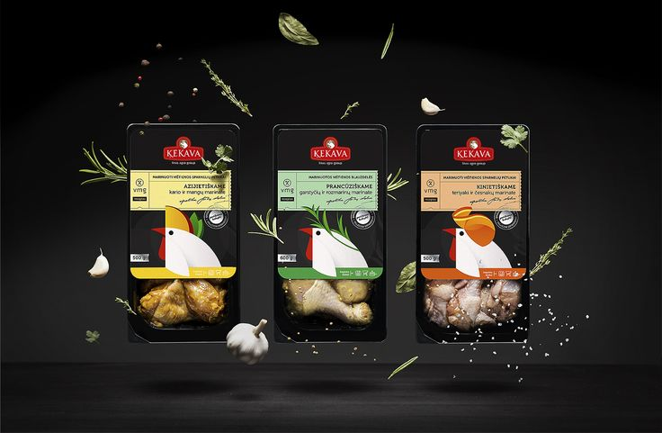 Kekava Marinaded Chicken on Packaging of the World - Creative Package Design Gallery