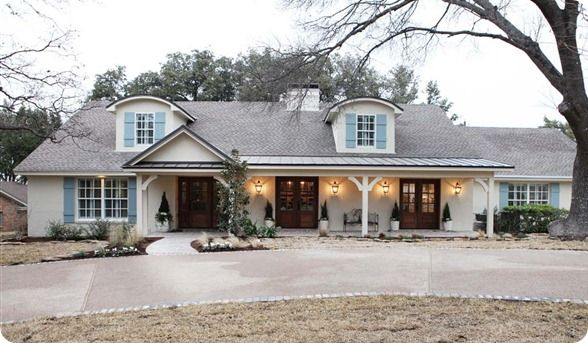 Dream House Exterior Country Ranch Style Joanna Gaines