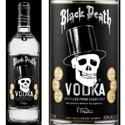 Liquorama - Black Death Sugar Beet Vodka 750ml, $19.99 (http://www.liquorama.net/black-death-sugar-beet-vodka-750ml.html)