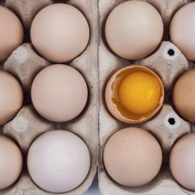 Lecithin can be found in egg yolks.