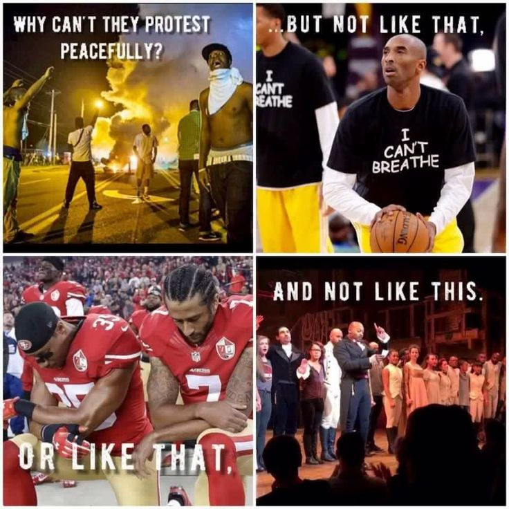 The truth is they just don't want us to protest at all, they want us to remain silent.