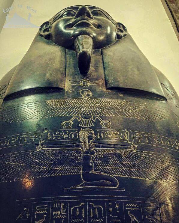 The Egyptian museum  المتحف المصري  To know more about our weekend in Egypt check لمعرفة المزيد عن رحلتنا الى القاهرة يمكنك قراءة المدونة على الرابط  http://www.easttowestadventures.com/en/pyramids-for-a-weekend/ #easttowestadventures #egypt #egyptianmuseum #cairo #travelblogger #travelphotography