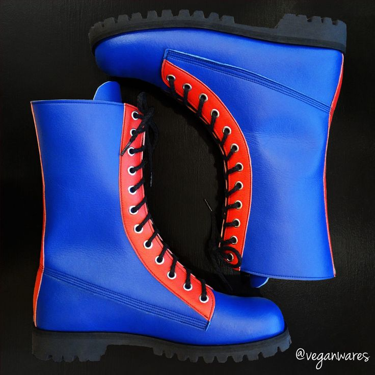 How colourful do you like your boots? Don't forget you can order them in any colour you like!