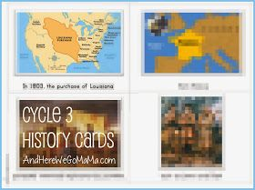 And Here We Go!: Cycle 3 History Cards