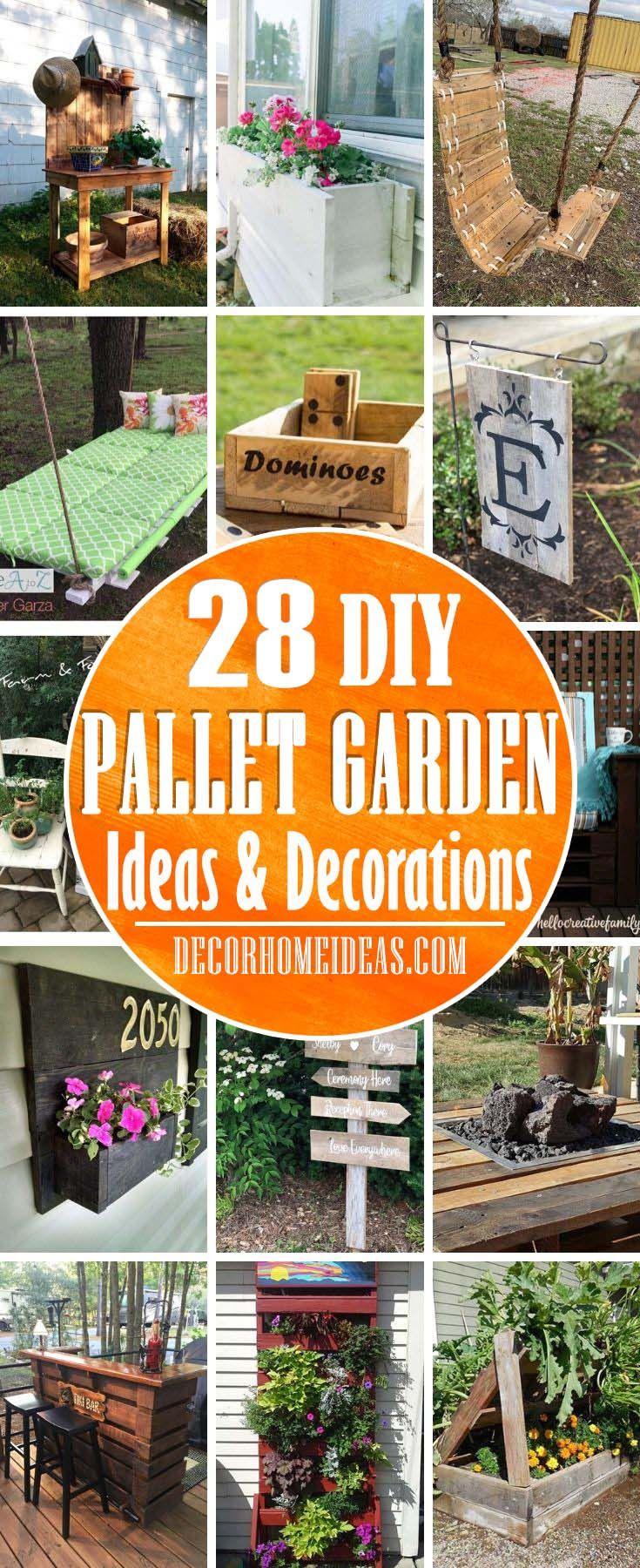 28 Impressive Diy Pallet Garden Ideas To Upcycle Your Wooden Pallets Pallets Garden Pallet Garden Pallet Diy