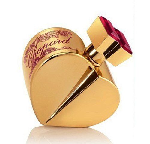 The fragrance that celebrates eternal love.     The house of CHOPARD has used its expertise in jewelry again to create the exceptional heart-shaped perfume bottle of the Happy Spirit collection. The new composition within this line, Happy Spirit Forever, focuses on marital vows, traditions and the very act of getting married, customs that have been respected since ancient times, as well as the love that unites