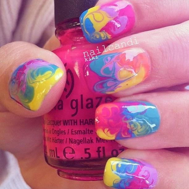 214 best china glaze polish nail art images on pinterest make up nail art pedicurespaproducts tie dye prinsesfo Choice Image