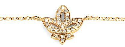 This bracelet stands for unique moments in springtime #yorxs #diamanten #armband #gold #dreiblatt