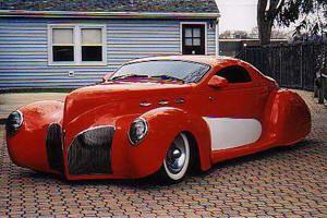 1939 Lincoln Zepher (Glass body)