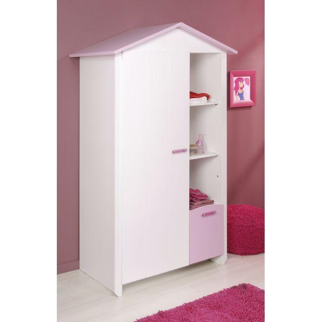 49 best ma chambre d 39 enfant images on pinterest room child and children - Armoire enfant blanc ...