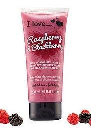 Raspberry & Blackberry Kuoriva suihkusaippua 200ml
