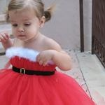 Santa tutu dress!! In love!!! Christmas Card?