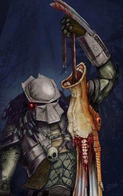 Pin by Spoopy Artist on Depredador   Predator artwork