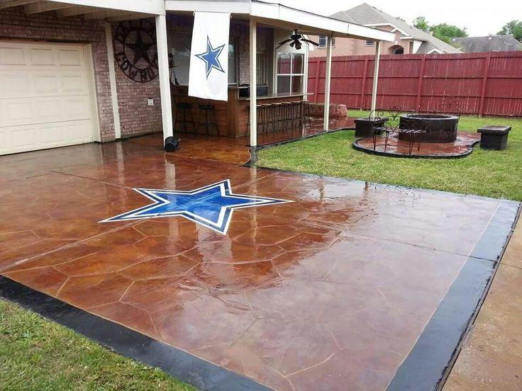 Dallas Cowboys dream driveway