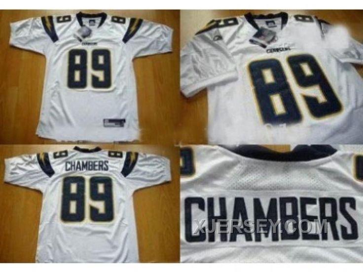 http://www.xjersey.com/discount-nfl-san-diego-chargers-89-chambers-white.html DISCOUNT NFL SAN DIEGO CHARGERS #89 CHAMBERS WHITE Only $34.00 , Free Shipping!