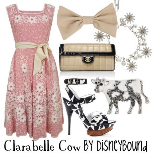 From the awesome Disneybound site!     Check it! http://disneybound.tumblr.com