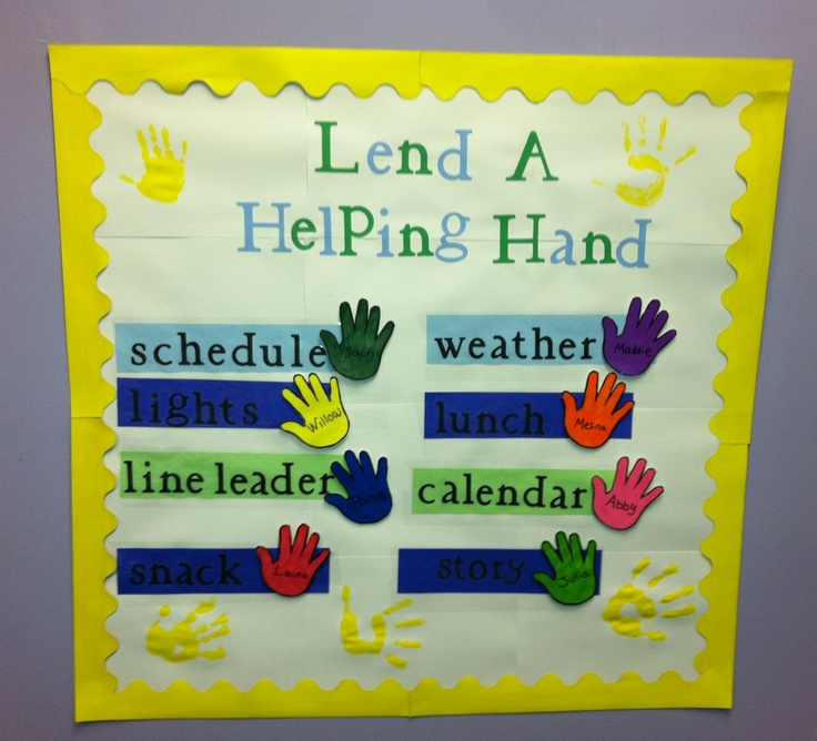Classroom Helpers Ideas For Preschoolers ~ Best images about bulletin boards on pinterest