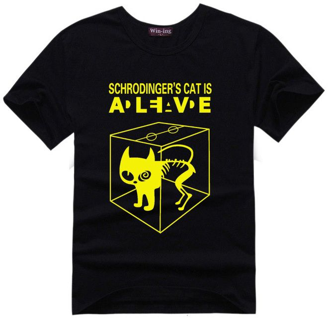 Schrodingers Cat T-shirt Science Geek T Shirt //Price: $22.00 & FREE Shipping //     #follow