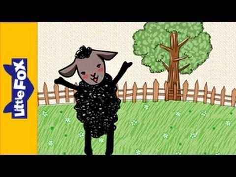 Baa, Baa, Black Sheep -Engels liedje voor kleuters