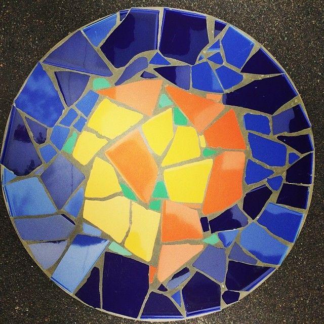 #schaal #mozaiek #workshop #af