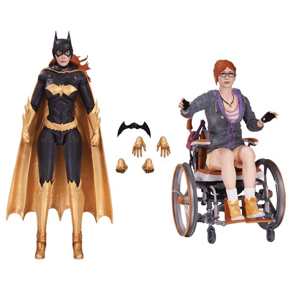 This Batman: Arkham Knight action figure 2-pack includes Batgirl and Oracle (Barbara Gordon) as seen in the hit video game Batman: Arkham Knight.