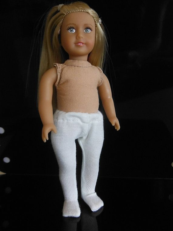 Clothes for Mini American Girl doll - tights