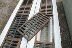 Century Precast Concrete Trench Drains With Steel Grating