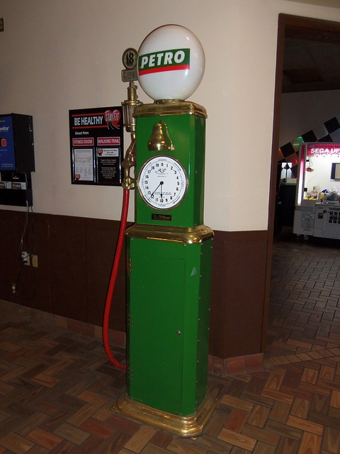 Petro Gasoline Pump by The Upstairs Room, via Flickr