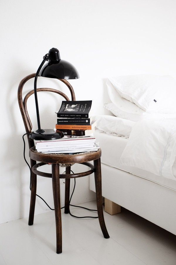 as a bedside table