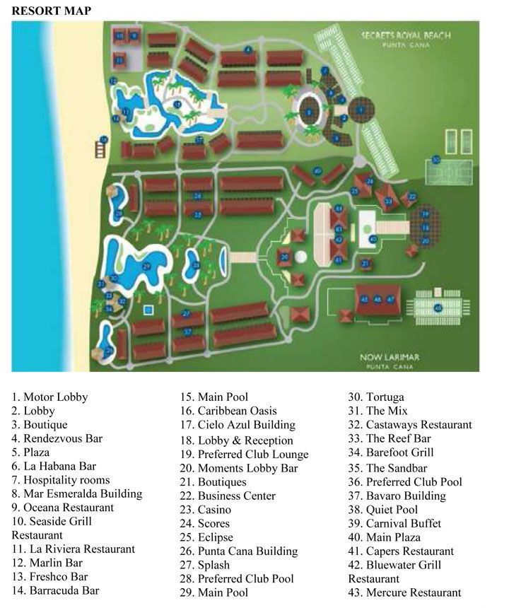 8 best Resort Maps images on Pinterest  Dominican republic
