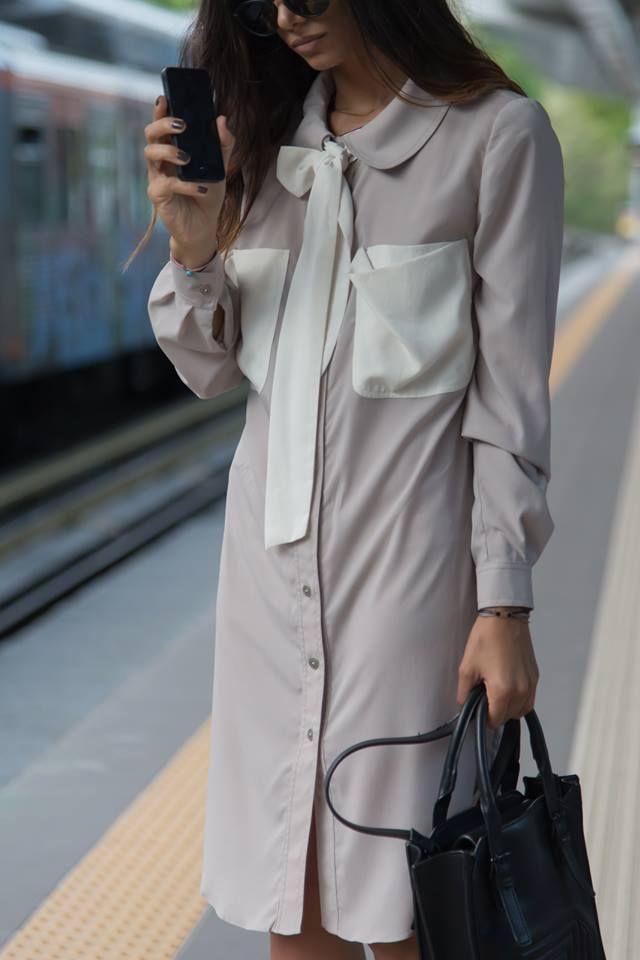 Nadia Rapti Signature Long Shirt _ Fashionnoiz.com #NadiaRapti #Fashionnoiz