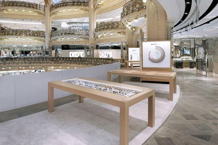 Apple Watch Pop Up Shop at Galeries Lafayette in Paris Shuts Down  #RelatedRoundups:AppleWatchSeries2 #watchOS3Buyer'sGuide:AppleWatch(Neutral) #news