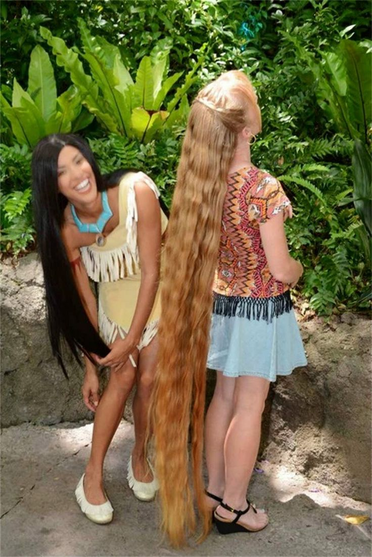 Braids U0026 Hairstyles For Super Long Hair: VIDEO: Meeting Pocahontas At  Disneyu2026