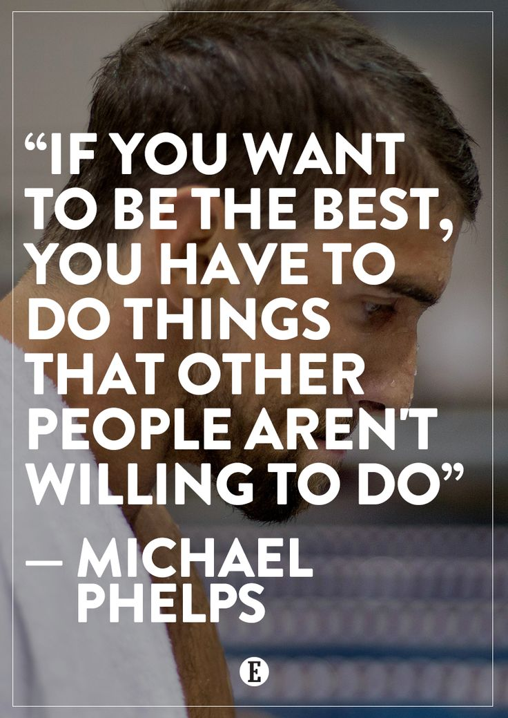 Lovely Michael Phelps. Motivational Quotes ...