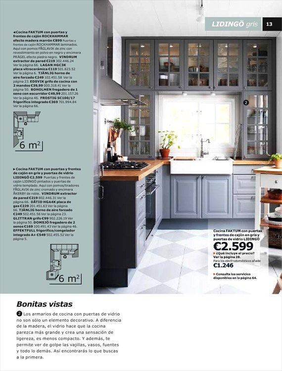Bella catalogo de cocinas 2014 ikea cocinas peque as for Catalogo cocinas pequenas