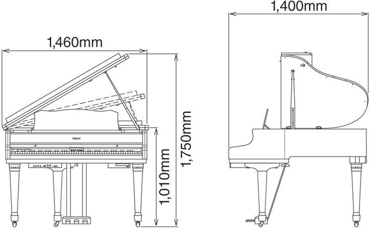 Baby <b>Grand</b> <b>Piano</b> <b>Dimensions</b> Zivqx