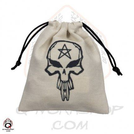Skully dice bag