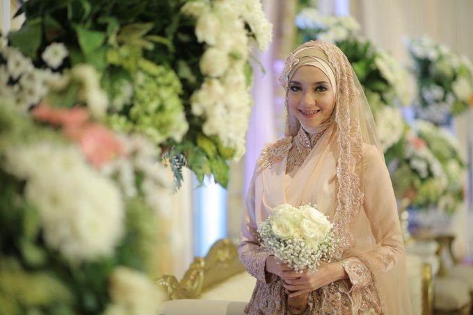 Nia & Fifin Wedding by LAKSMI - Kebaya Muslimah & Islamic Wedding Service - 011