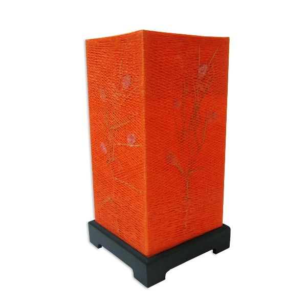 Orange Cotton Japanese Lamp - Rs.749.50